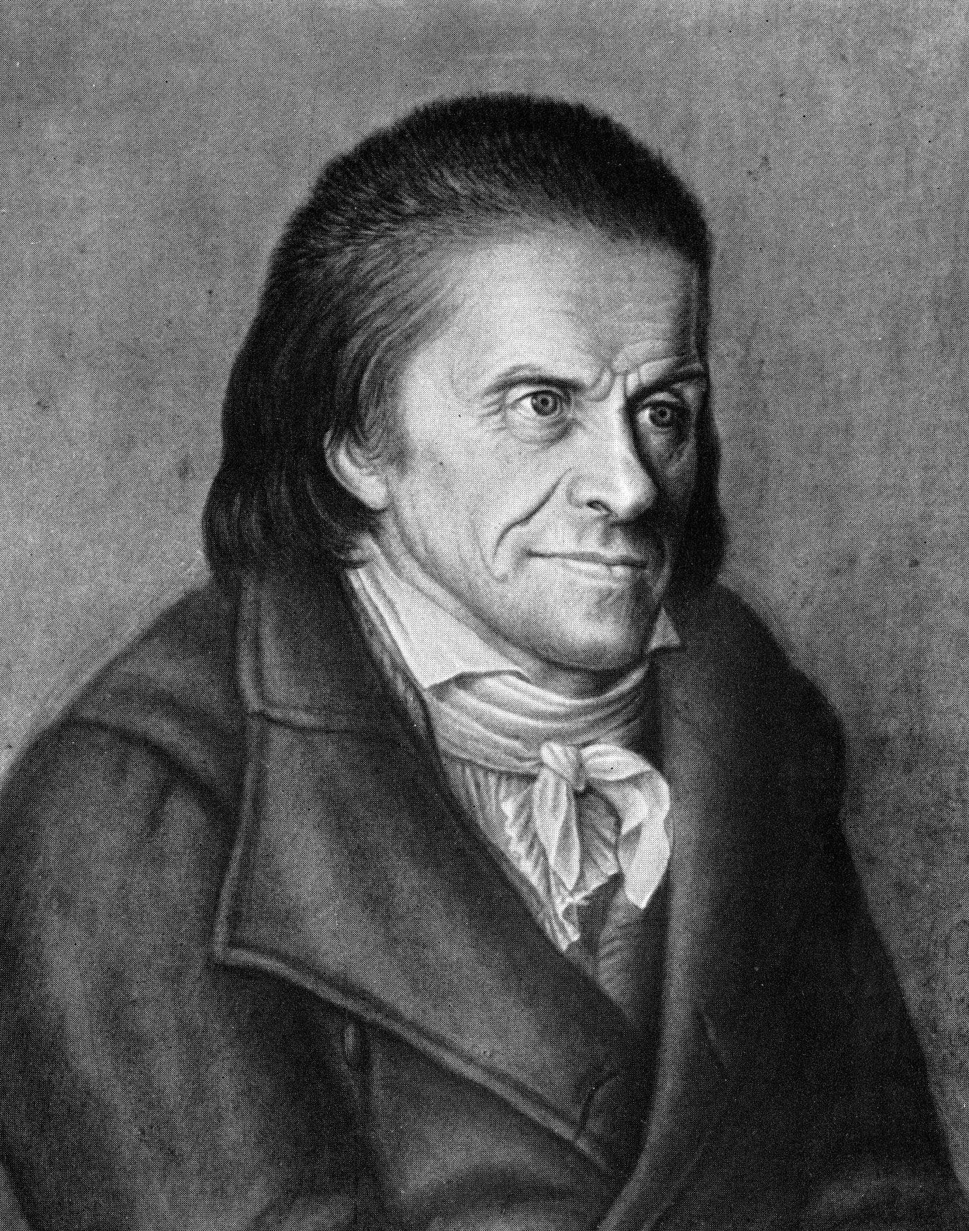 Pestalozzi. Friedrich Gustav  Schönerin muotokuva.  Kuva: Wikimedia Commons