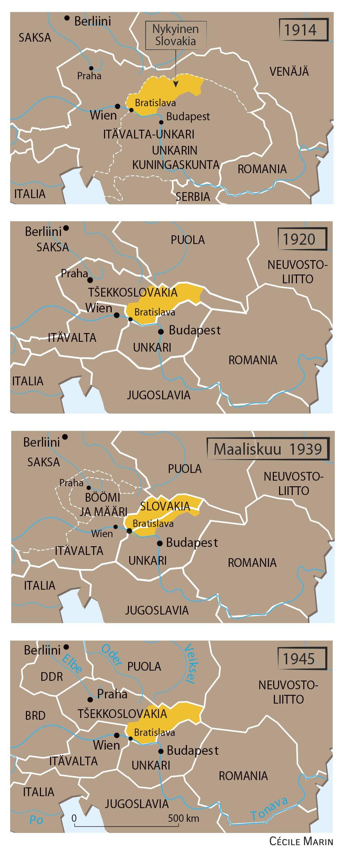 Slovakia Kartta Le Monde Diplomatique