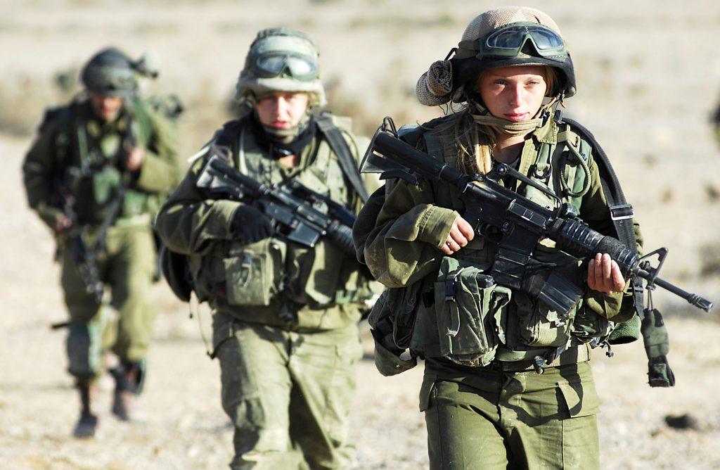 Talviharjoituksissa 2007.  Kuva: Israel Defense Forces