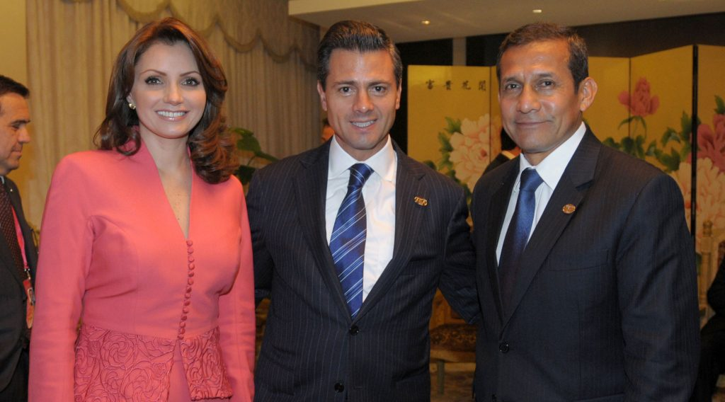 Sra._Angélica_Rivera_de_Peña,_Presidente_Enrique_Peña_Nieto_y_Presidente_de_Perú_Sr._Ollanta_Humala_(8640709530)