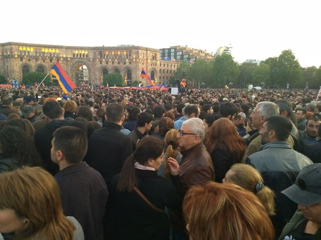April_22_yerevan_republic_square_protest--Raffi--Kojian