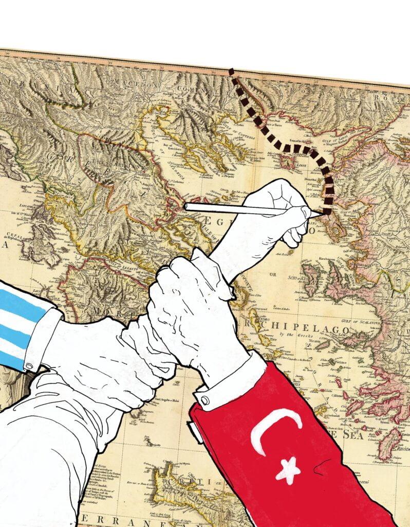 Kreikan ja Turkin vuosisatainen valtataistelu