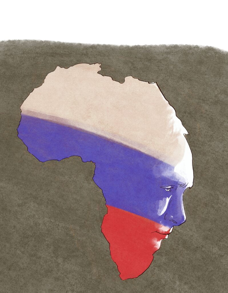 Venäläiset Afrikassa