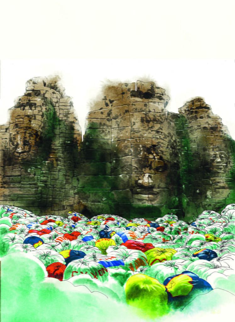 Muovin kirous:  Jätevienti tärvelee Kaakkois-Aasian