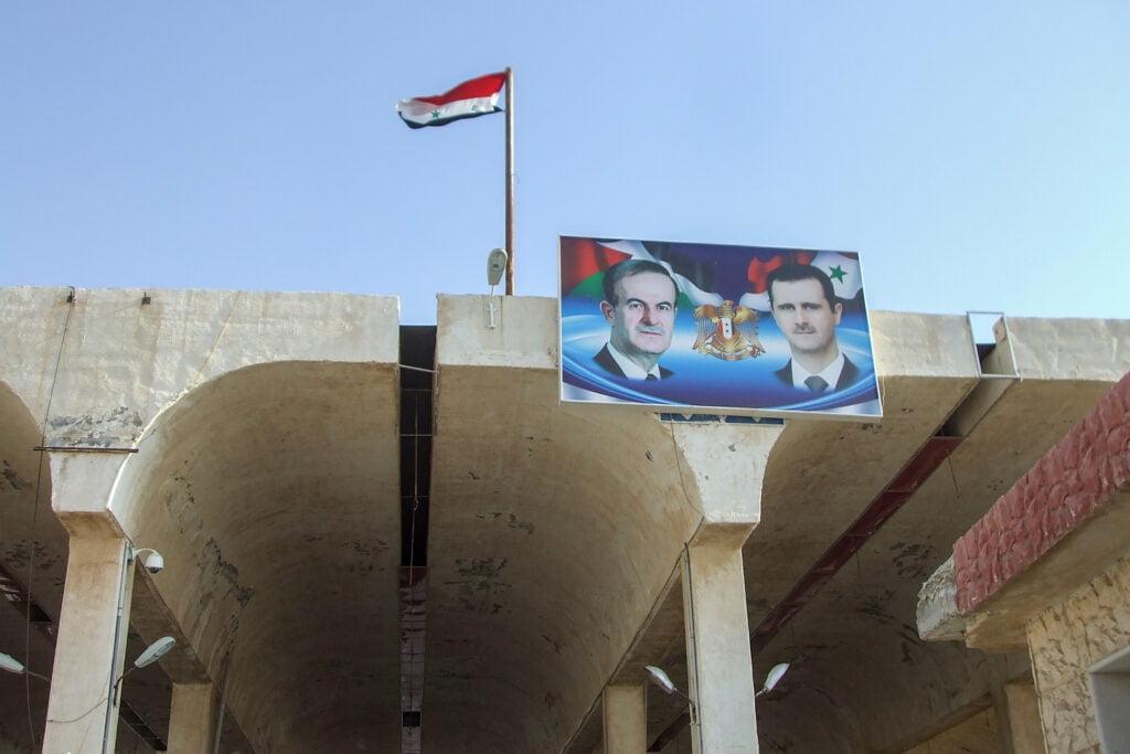 Miksi Syyrian hallinto on pysynyt vallassa?