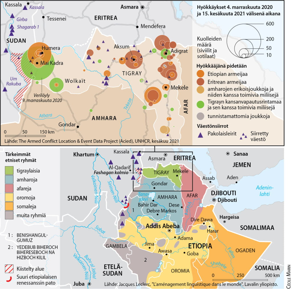 Kuinka Tigraysta tuli Etiopian ja Eritrean sovun uhri